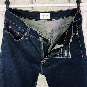 Hudson Natalie Lake Blue Ankle Skinny Jeans 27